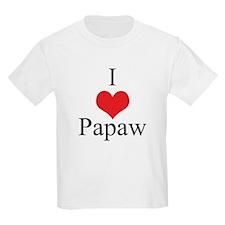 I Love (Heart) Papaw T-Shirt