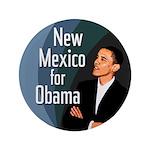 Big New Mexico for Obama Button