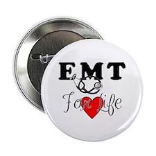 "EMT For Life 2.25"" Button (10 pack)"