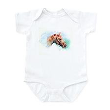 Arabian Horse head Infant Bodysuit