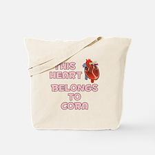 This Heart: Cora (C) Tote Bag