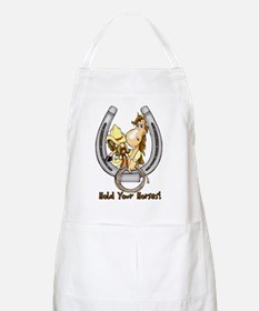 Hold your horse BBQ Apron