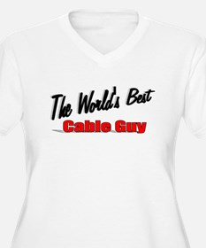 """The World's Best Cable Guy"" T-Shirt"