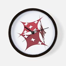 SHARP DICE Wall Clock