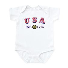 USA Est. 1775 Infant Bodysuit