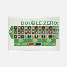 DOUBLE ZERO! Rectangle Magnet