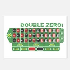 DOUBLE ZERO! Postcards (Package of 8)