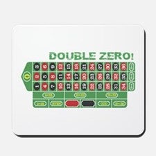 DOUBLE ZERO! Mousepad