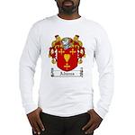 Adams Family Crest Long Sleeve T-Shirt