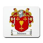 Adams Family Crest Mousepad