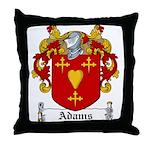 Adams Family Crest Throw Pillow