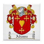 Adams Family Crest Tile Coaster