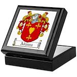 Adams Family Crest Keepsake Box