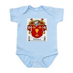 Adams Family Crest Infant Creeper
