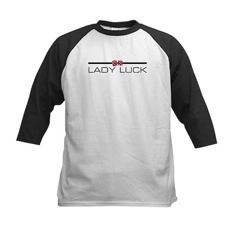 LADY LUCK Kids Baseball Jersey