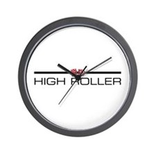 HIGH ROLLER Wall Clock