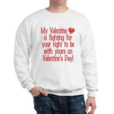 Valentine Fighting Army Sweatshirt