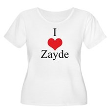 I Love (Heart) Zayde T-Shirt