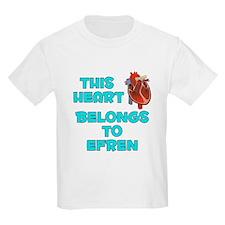 This Heart: Efren (B) T-Shirt