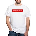 American Girl White T-Shirt