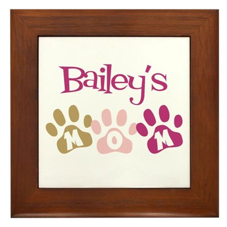 Bailey's Mom Framed Tile
