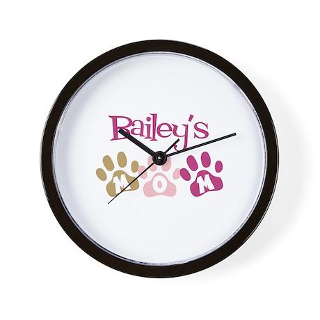 Bailey's Mom Wall Clock