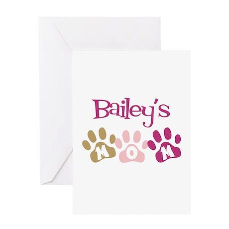 Bailey's Mom Greeting Card