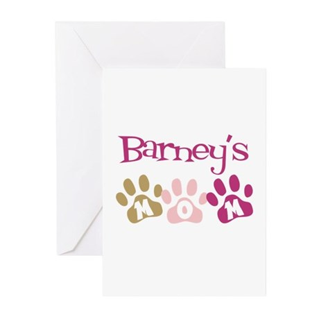 Barney's Mom Greeting Cards (Pk of 10)