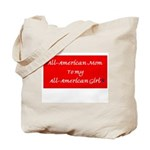 All-American Mom/Girl Tote Bag
