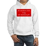 All-American Mom/Girl Hooded Sweatshirt