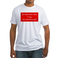 All-American Mom/Girl Shirt