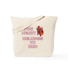 This Heart: Dan (C) Tote Bag