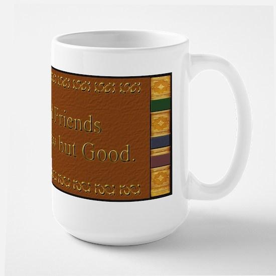 Book and Friends  Large Mug