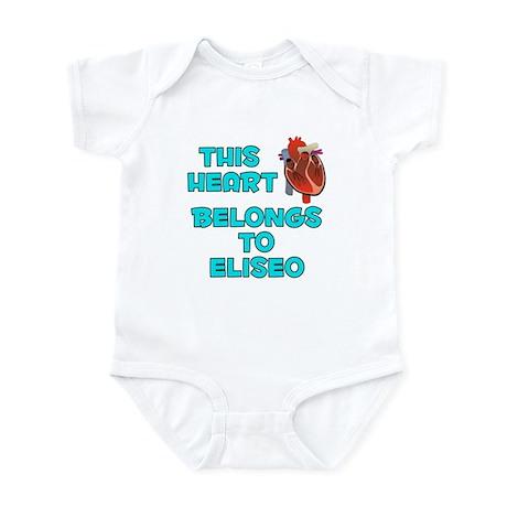 This Heart: Eliseo (B) Infant Bodysuit