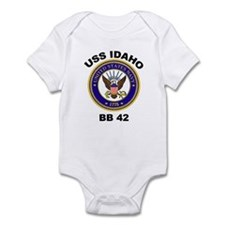 USS Idaho BB 42 Infant Bodysuit