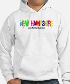 Colorful New Hampshire Hoodie