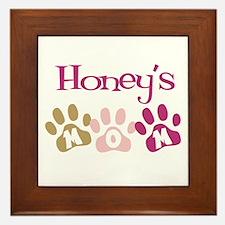 Honey's Mom Framed Tile
