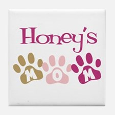 Honey's Mom Tile Coaster