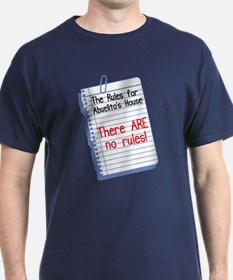 No Rules at Abuelito's House T-Shirt