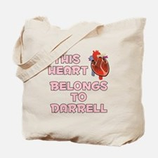 This Heart: Darrell (C) Tote Bag