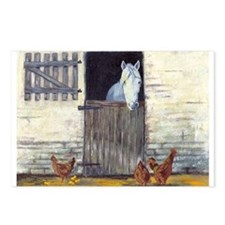 Stall Horse Postcards (Package of 8)