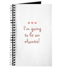 I'm going to be an Auntie! Journal