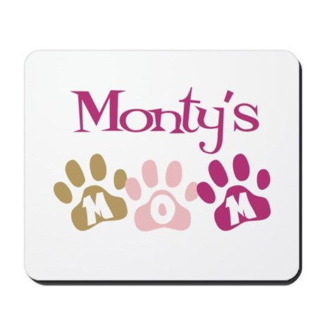 Monty's Mom Mousepad