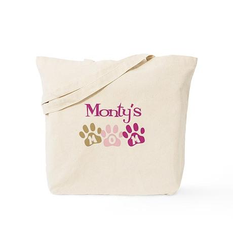 Monty's Mom Tote Bag