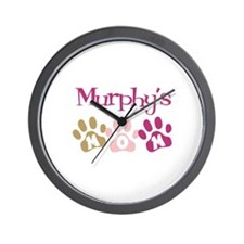 Murphy's Mom Wall Clock