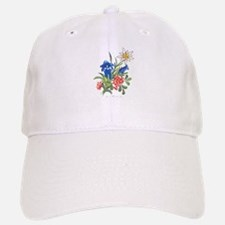 Alpine Flowers Baseball Baseball Cap