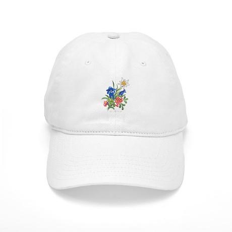 Alpine Flowers Cap