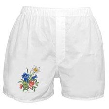 Alpine Flowers Boxer Shorts