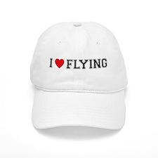 I Love Flying Baseball Cap
