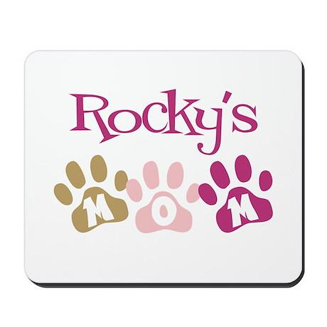 Rocky's Mom Mousepad